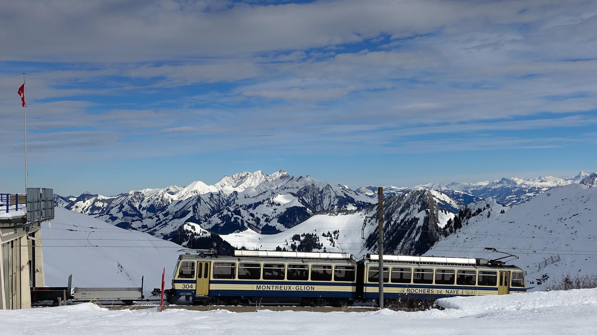 Zahnradbahn Rochers-de-Naye Montreux